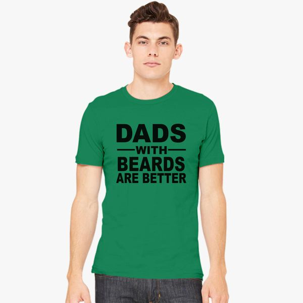 ab2c7f92e Dads with beards Men's T-shirt - Customon