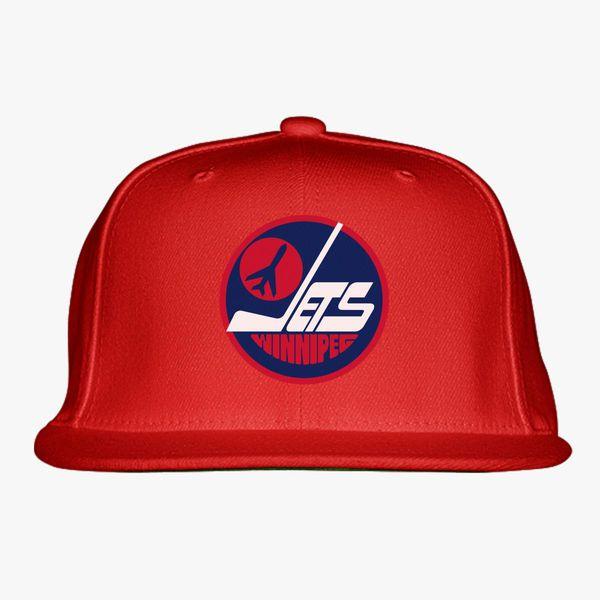 856519c5 Winnipeg Jets Snapback Hat - Customon