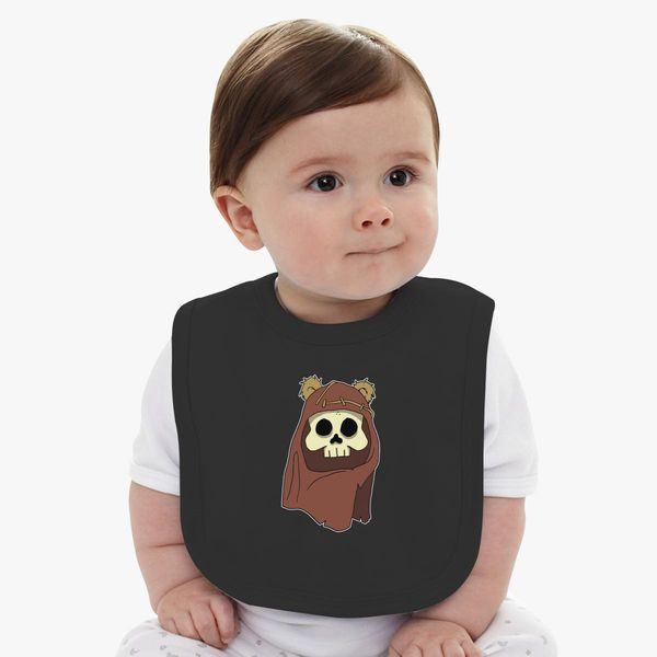30c7cf49b Dead Ewok Baby Bib - Customon