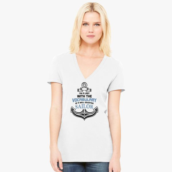Im a Lady with a Well Educated Sailor Awesome Gift Unisex Sweatshirt tee