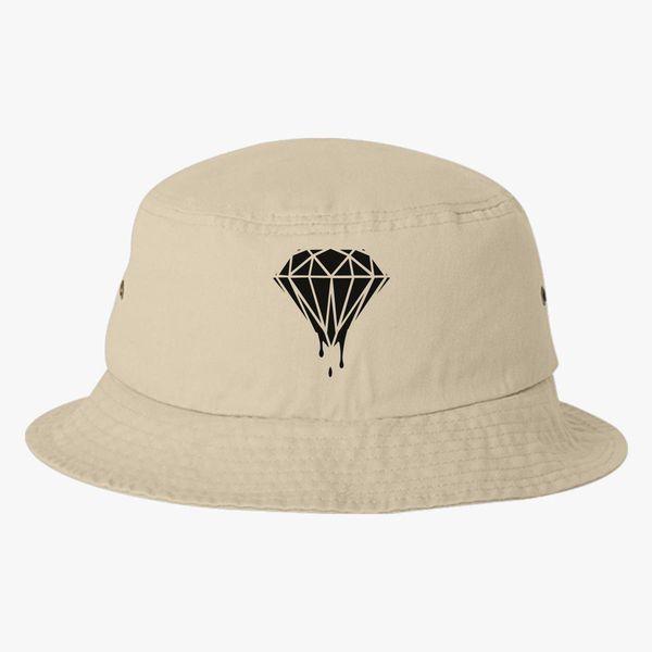 133133fd1ee Leaking Diamond Bucket Hat (Embroidered) - Customon