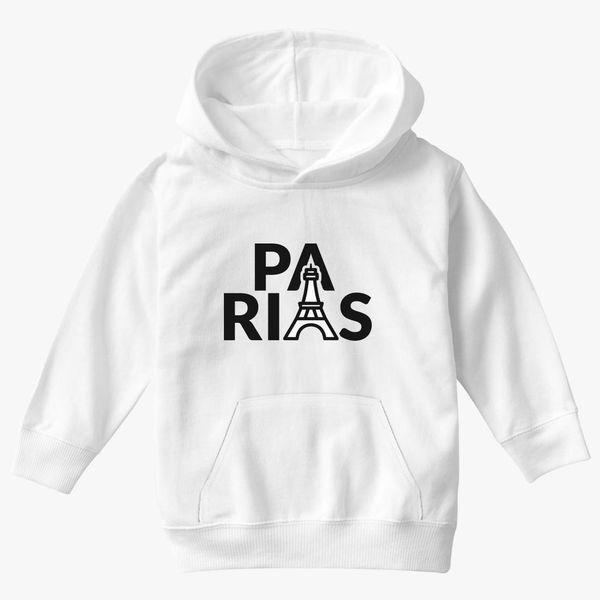 Visit Paris Pullover Hoodie By VEKTORKITA Design By Humans