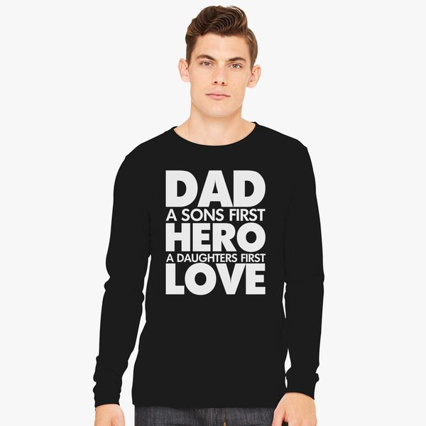 Gifts For Dad From Daughter A Daughter/'s First Love Standard Unisex T-shirt