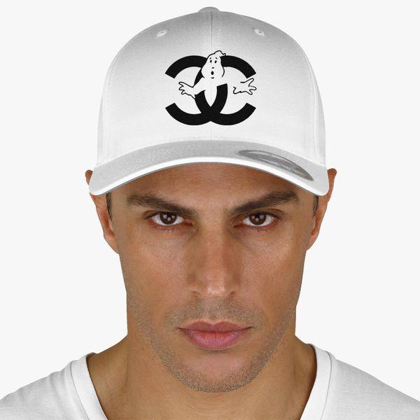 238820f42 chanel cc parody logo ghost Baseball Cap (Embroidered) - Customon