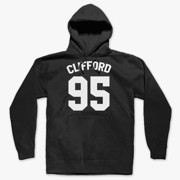Clifford 95 unisex Hoodie hooded top Printed on the back
