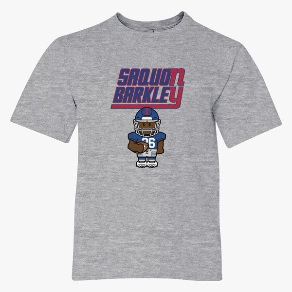 uk availability fc2ad fdc34 Saquon Barkley Youth T-shirt - Customon