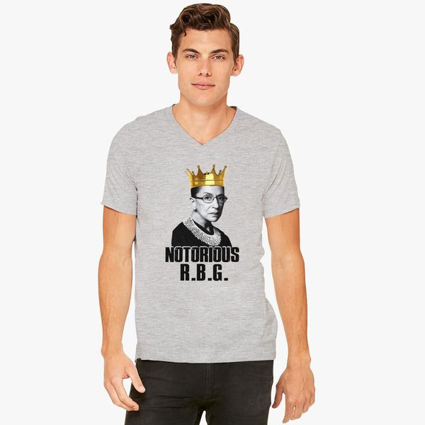 04e61c3f1 NOTORIOUS RBG V-Neck T-shirt - Customon