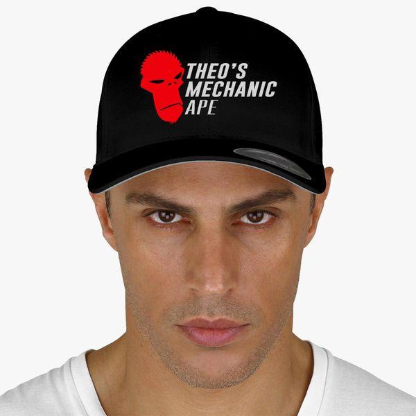 f6d2638db1f Theo s Mechanic Ape Baseball Cap (Embroidered) - Customon