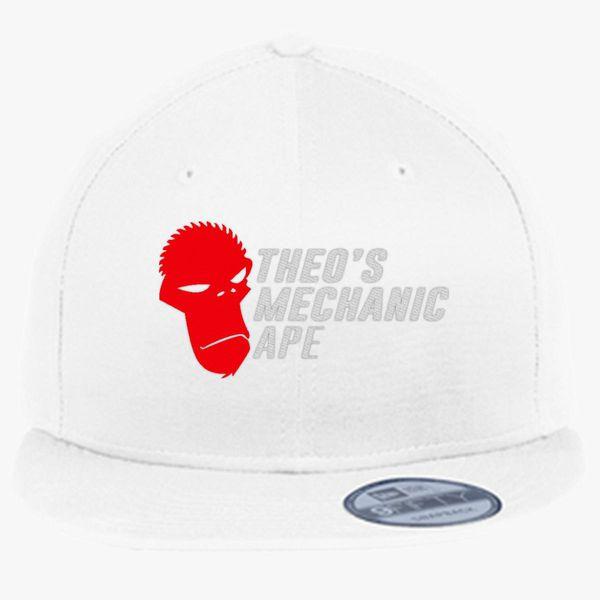 a45547a7648 Theo s Mechanic Ape New Era Snapback Cap (Embroidered) - Customon