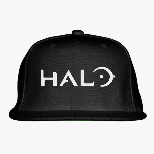 4d01972a71b04 Halo Game Logo Snapback Hat - Customon