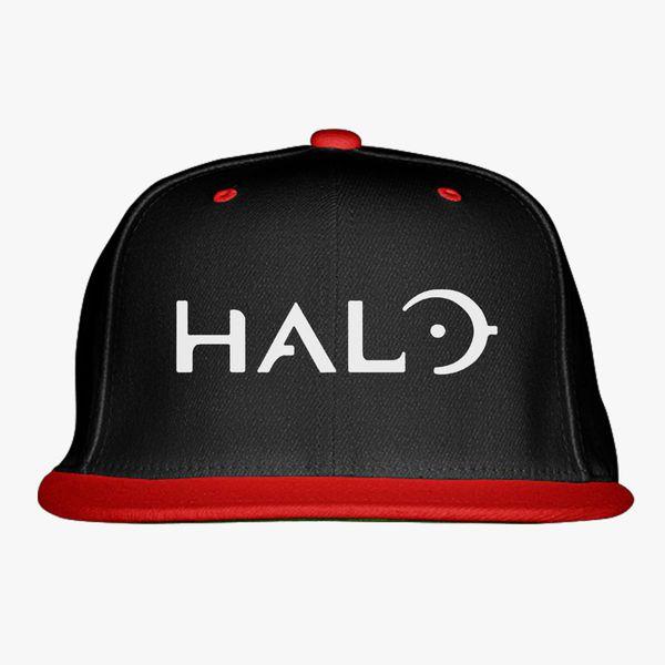 93f7955da7667 Halo Game Logo Snapback Hat - Customon