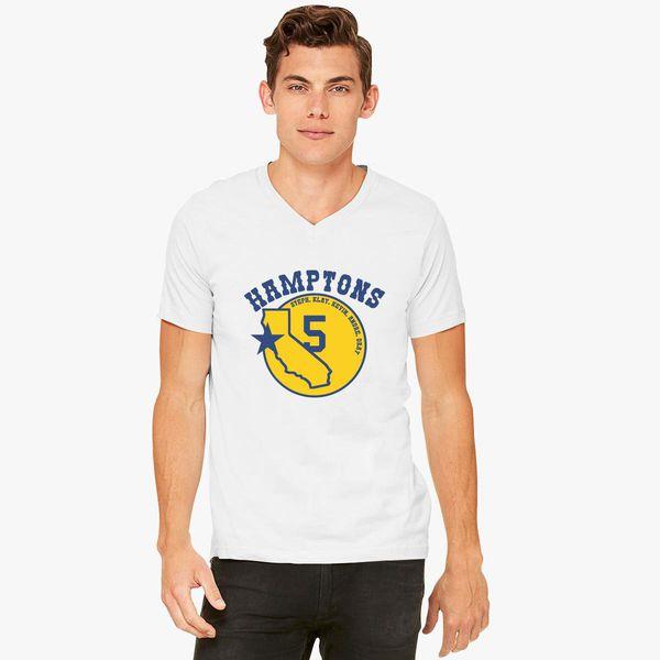 6fa26339 Golden State Hamptons V-Neck T-shirt - Customon
