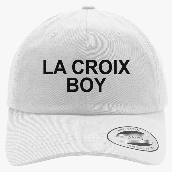 e8d23f45 La Croix Boy - Quote Book Hipster Cotton Twill Hat | Customon.com