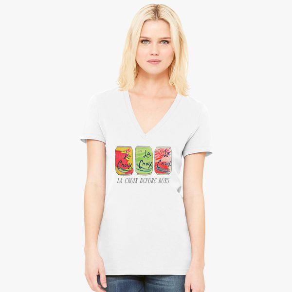 36644ab56c313 La Croix Before Boys Women s V-Neck T-shirt - Customon
