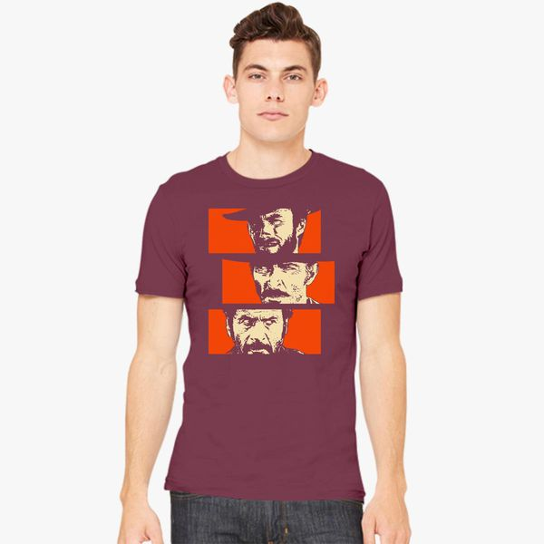 The Bad and The Ugly The Good Blondie and Tuco vs Angel Eyes Men Unisex T-Shirt