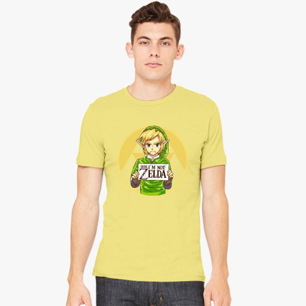 Dude I M Not Zelda Men S T Shirt Customon