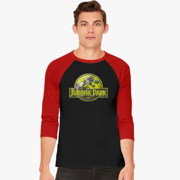13c27897 Jurassic Park Baseball T-shirt - Customon