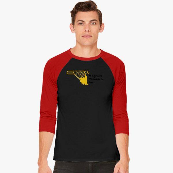 97945427a Magnum Research Baseball T-shirt - Customon