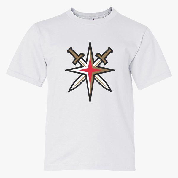 48cbc5090 Vegas Golden Knights Logo Youth T-shirt - Customon