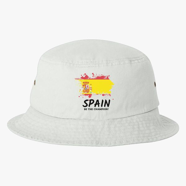 b4b2f1f2c8d Fifa World Cup 2018 Spain Bucket Hat - Customon