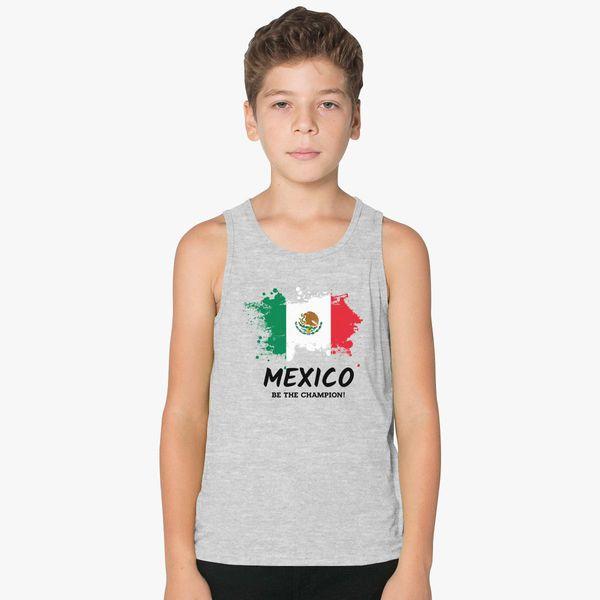 988e9429a Fifa World Cup 2018 Mexico Kids Tank Top - Customon