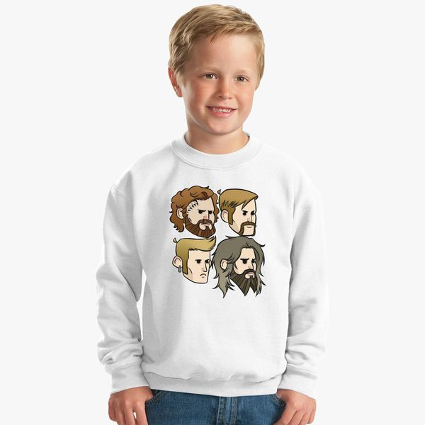 c6d7106e0208 MASTODON Cartoon Quartet Kids Sweatshirt - Customon