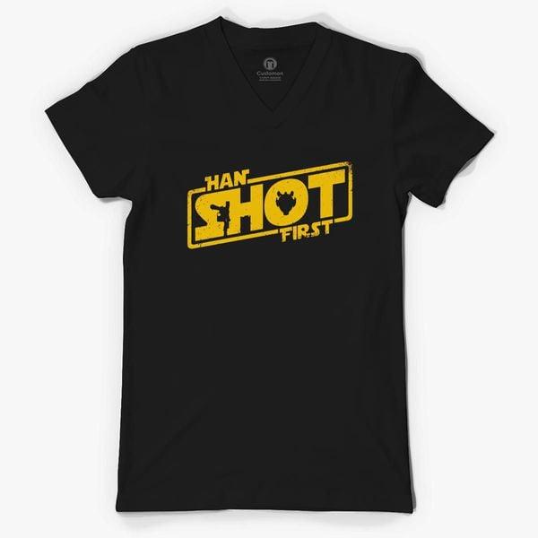 380 Han Shot First Funny Adult Long Sleeve T Shirt