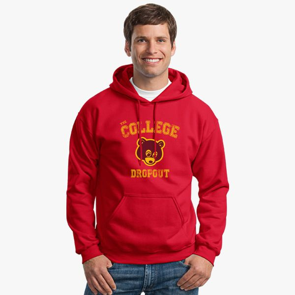 Bear College Dropout Unisex Hoodie Customon