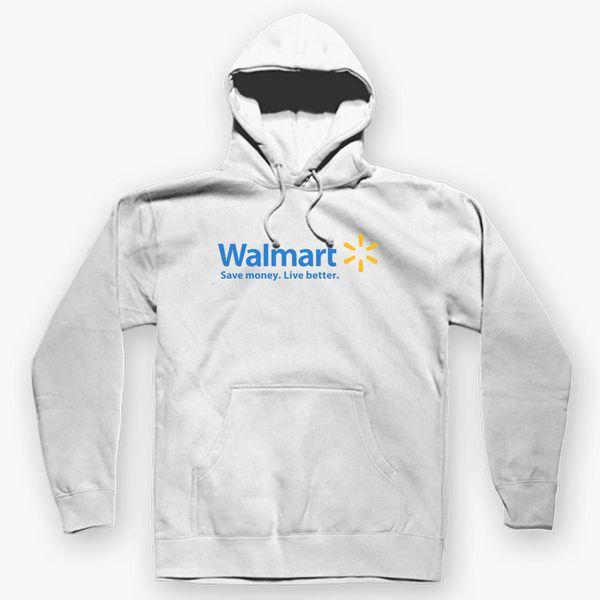 ce14656169f Walmart Logo Unisex Hoodie - Customon
