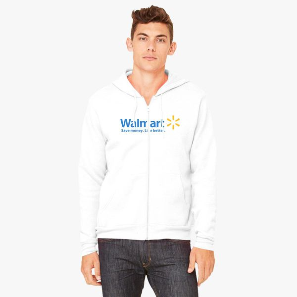 c67475d316a Walmart Logo Unisex Zip-Up Hoodie - Customon