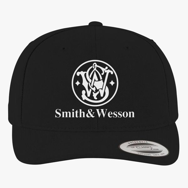 7884b40cb Smith and Wesson Logo Brushed Cotton Twill Hat - Customon