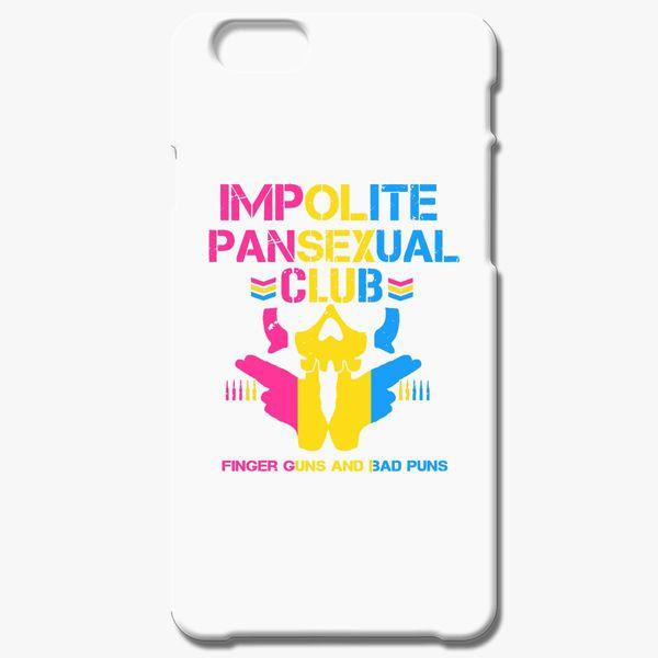Impolite PanSexual Club ( LGBTQIA ) iPhone 6/6S Case - Customon
