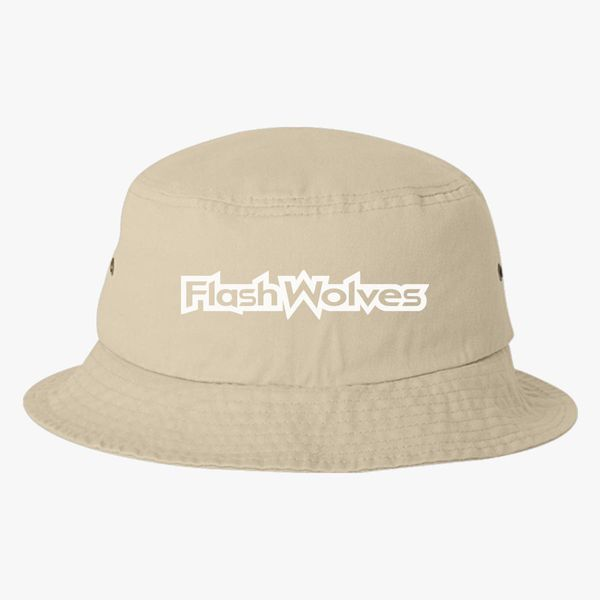 8d52f4090ee Flash Wolves logo Bucket Hat (Embroidered) - Customon