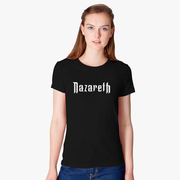 2ed8a04d5da5cb Nazareth Band Logo Women s T-shirt - Customon