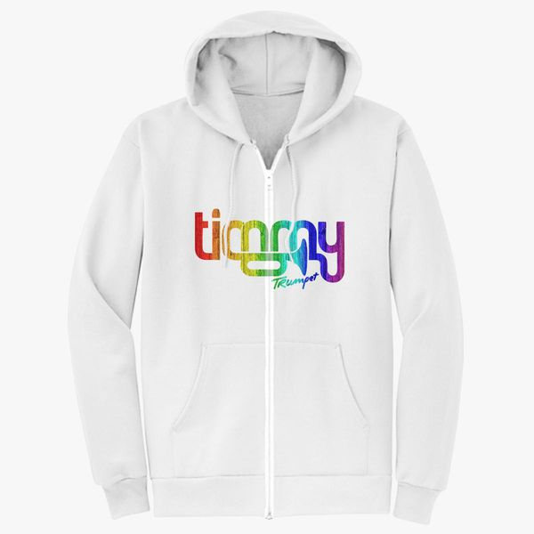 03911c08b Timmy Trumpet Colorful Logo Unisex Zip-Up Hoodie - Customon