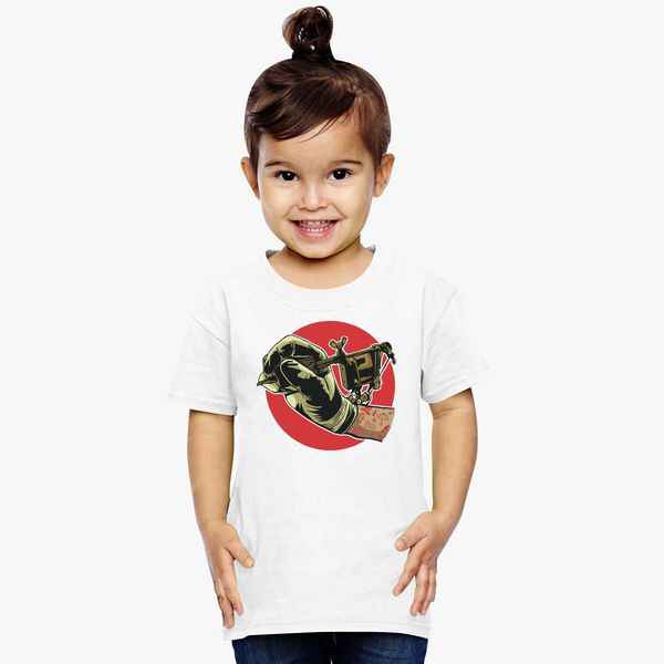 2d132f8e7 Tattoo Machine Toddler T-shirt - Customon