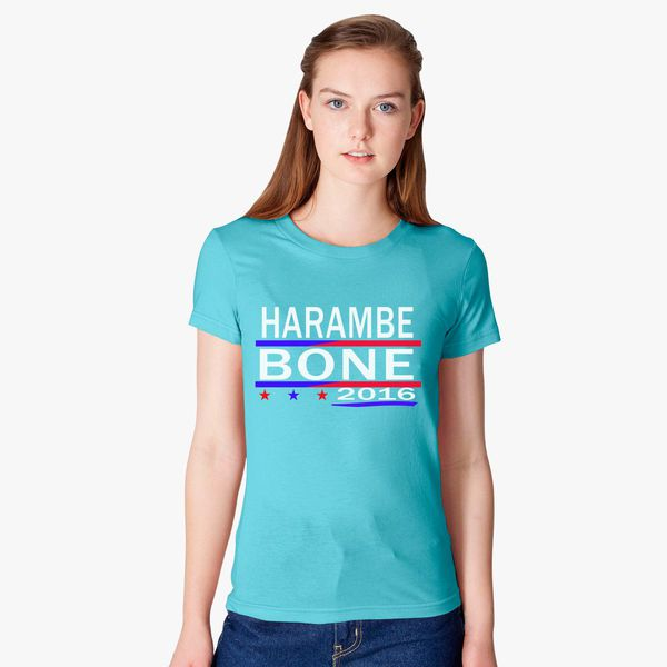 e66e889249 HARAMBE AND KEN BONE 2016 Women's T-shirt - Customon