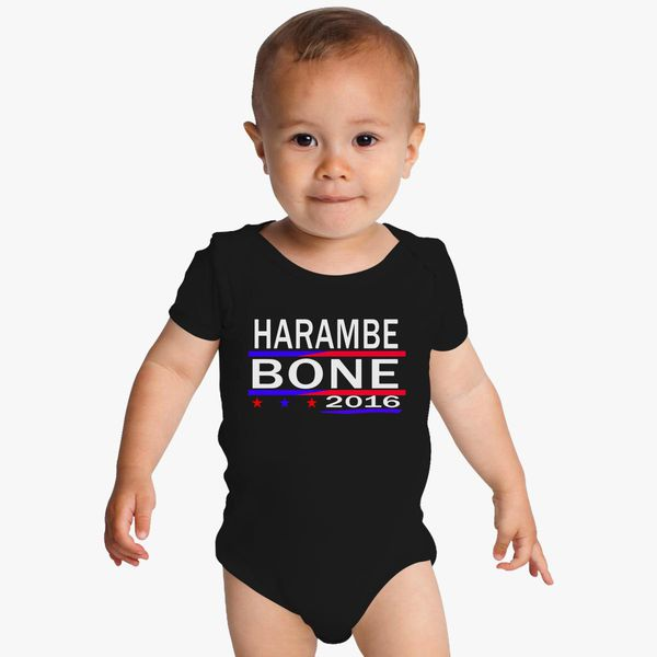 9352761ec8 HARAMBE AND KEN BONE 2016 Baby Onesies - Customon