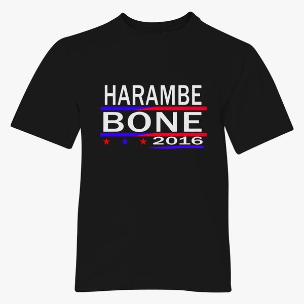 74469629f3 HARAMBE AND KEN BONE 2016 Youth T-shirt - Customon