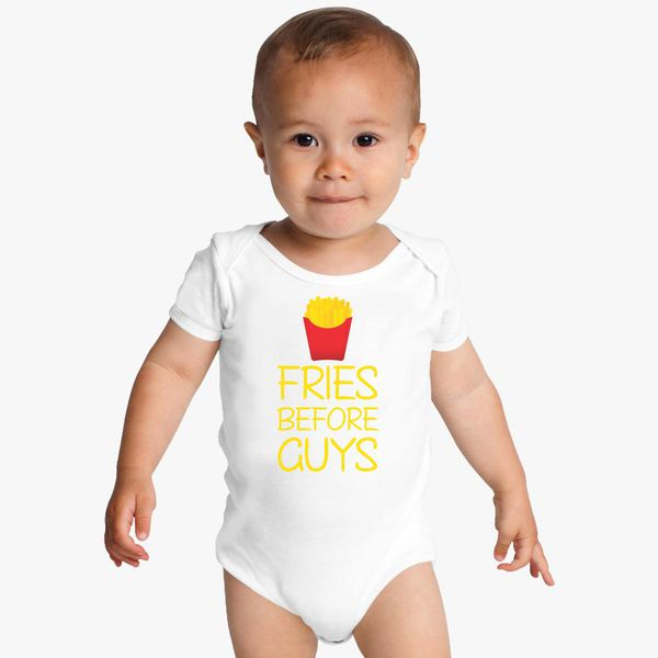 d9a9ace5937cf Fries Before Guys Baby Onesies - Customon