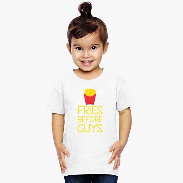 be4ddf9922c58 Fries Before Guys Toddler T-shirt - Customon