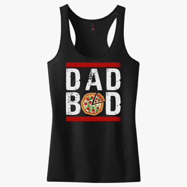 7e015ee64 Funny Dad Bod, Fathers Day Women's Racerback Tank Top - Customon