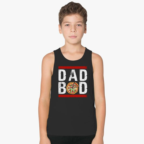 265c342a8 Funny Dad Bod, Fathers Day Kids Tank Top - Customon