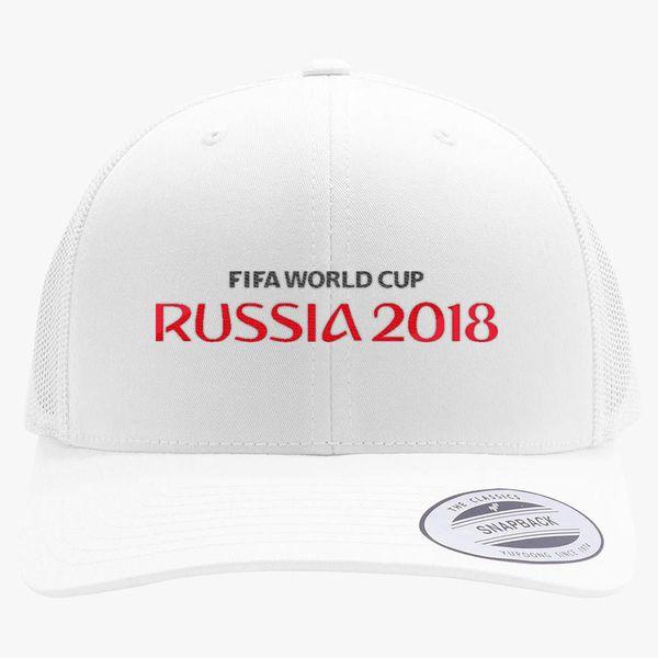 911e2a57306 Fifa World Cup Russia Retro Trucker Hat (Embroidered) - Customon