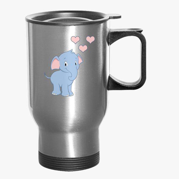 Elephant Travel Mug Customon