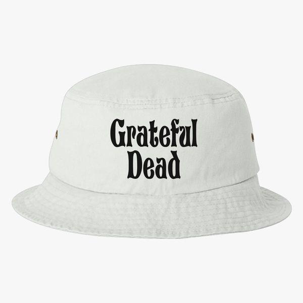Grateful Dead Trucker Hat: Grateful -Dead Logo Bucket Hat