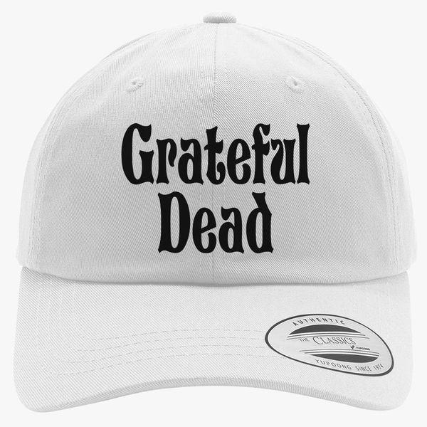 Grateful Dead Trucker Hat: Grateful -Dead Logo Cotton Twill Hat