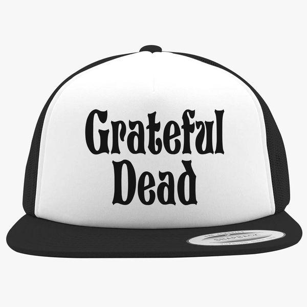 Grateful Dead Trucker Hat: Grateful -Dead Logo Foam Trucker Hat