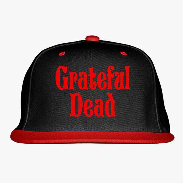 Grateful Dead Trucker Hat: Grateful -Dead Logo Snapback Hat