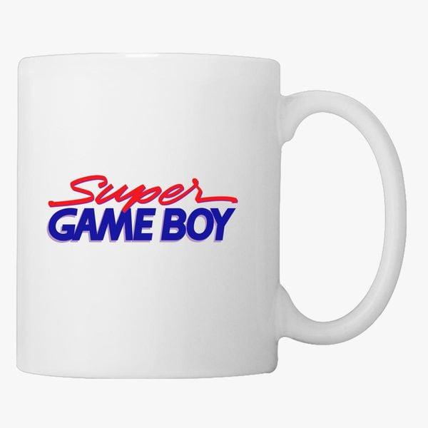 Super GameBoy Logo Coffee Mug - Customon